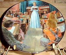 Little House On The Prairie School Mom Plate (RARE)