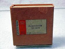 Zeiss Contaflex Microscope Adapter ring | Fits Contaflex I II | New | NOS | $45