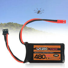 7.4V 2S 480mAh 25C Best RC Drones Lipo Battery Pack For RC Drone Accessory