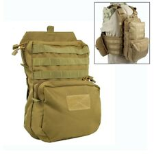 Tactical 3L Water Pack Bag Outdoor Military Vest Hydration Molle Hiking Backpack