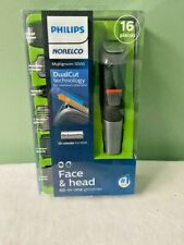 Philips Norelco All-in-One Trimmer 5000 Face & Hair Groomer 16 pieces MG5700/49