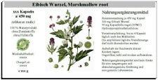 Eibisch - Marshmallow root Kapseln (althaeae radix)
