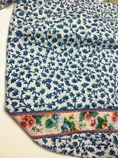 Retired Rare Vera Bradley Delft Blue Ditty Bag