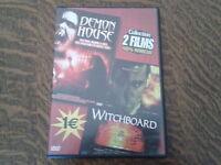 dvd 2 films demon house - witchboard