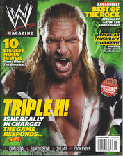 Wwe Wrestling Magazine Triple H Best Of The Rock Top Nerds John Cena Randy Orton