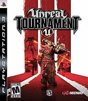 Unreal Tournament III 3 (Sony PlayStation 3, PS3 2007) Complete