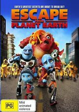 Escape From Planet Earth (Dvd) Adventure, Animation, Comedy, Family, Action,