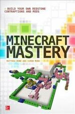 Minecraft Mastery: Build Your Own Redstone Contraptions and Mods- Paperback Book