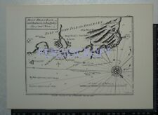 1748 Plan of Holyhead Bay & Harbour, North Anglesey - Lewis Morris -1987 Repro