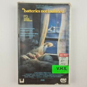 Batteries Not Included VHS Tape - Hume Cronyn - Jessica Tandy - TRACKED POST
