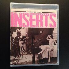 Inserts (Blu-ray, 2016, (1975), NC-17, Twilight Time, Richard Dreyfuss)