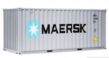 RARE 1/20 SCALE MAERSK SHIPPING FREIGHT CONTAINER HIGH SIMULATION MODEL TOY