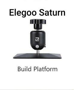 ELEGOO Saturn Build Plate - 3D Printer with Anti-Slip Hexagon Socket