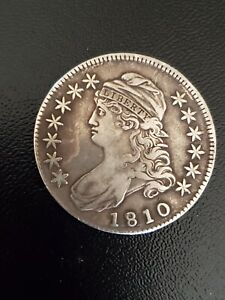 1810 Silver capped bust half dollar