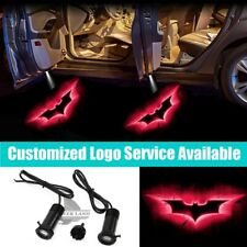 2x Red Dark Knight Batman Logo Car Door Projector Ghost Shadow LED Welcome Light