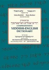 COMPREHENSIVE YIDDISH-ENGLISH DIC - HARRY BOCHNER SOLON BEINFELD (HARDCOVER) NEW