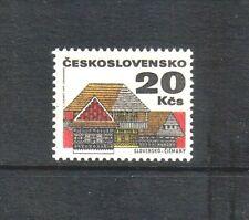 Czechoslovakia 1971 Regional Buildings top value (SG 1948) MNH