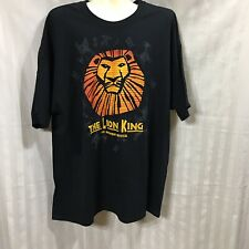 Disney The Lion King Broadway Musical 2Xl Shirt New Cotton Unisex