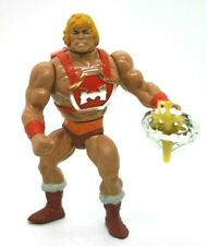 RARE 1985 vintage MOTU THUNDER PUNCH HE-MAN figure Complete Mattel NO CAPS