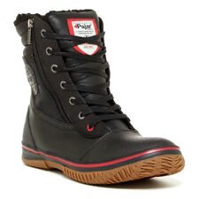 Pajar Tour Waterproof Leather Snow Boots in Black Size 42 (9 - 9.5 US)