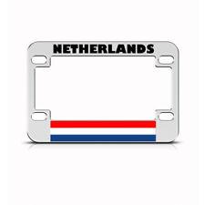 Metal Bike License Plate Frame Netherlandss Style B Motorcycle Accessories