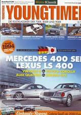 Youngtimer 2/14 Mercedes 400 SEL W140/BMW 528 Hartge/528 Alpina/Lexus LS/2014