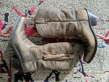 Ariat  Women's 6.5 B Brown Leather Western Cowgirl Boots