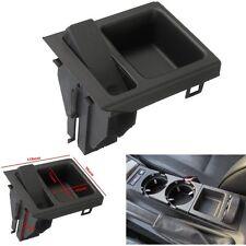 Black Centre Console Coin Box Holder Storage Tray For BMW E46 3 Series 98-05 New