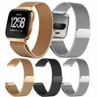 Replacement Wrist Metal Strap Band Stainless Steel For Fitbit Versa Watch Band