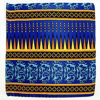 Men's Pocket Square Handkerchief Wedding Fashion Dress Silk Gold Blue Hanky