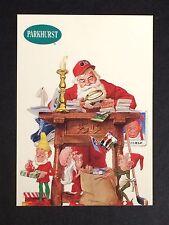 1991 Pro Set Parkhurst Santa Claus Happy Holidays No # Short Print Nm-Mt+ *23