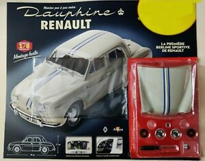 Montez la Renault Dauphine 1093 n°1 1/8 - Altaya (Neuf)