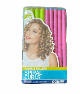 NEW Conair Spiral Rollers,18 ct