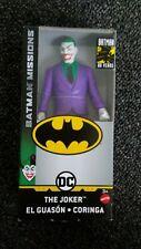 DC Comics Batman Missions 6 inch JOKER MATTEL 80 Years of Batman FREE SHIPPING!