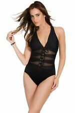 69481f25da6a8 Miraclesuit Suit Yourself Ansonia One-piece Slimming Swimsuit Low V-neckline