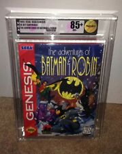 The Adventures of Batman & Robin VGA 85+ GOLD! Sega Genesis RARE 16-BIT CLASSIC!