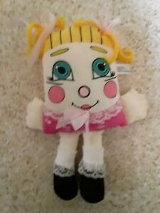 Sweet Dreams Pillow People 1985 Girl Plush Mini Doll 80s VIntage 8""