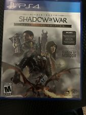 Middle Earh: Shadow Of War Definitive Edition Ps4