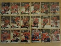 1991-92 Pro Set MONTREAL CANADIENS Team Set - 35 Cards - JOHN LECLAIR RC