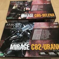ARMORED CORE Variable infinity MIRAGE AC-003 C05-SELENA, AC-008 C02-URANUS