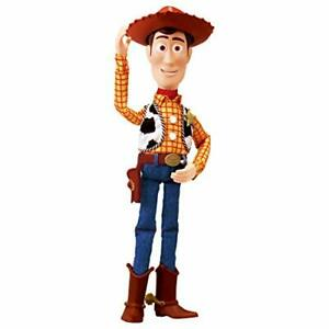 Toy Story Real Size Talking Japanese & English Figure Woody Remix Ver.
