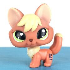 Authentic Littlest Petshop 1028 Fox / Renard Original Hasbro LPS Pet Shop