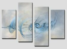 4 PANEL Tot size 90x70cm ABSTRACT ART Large Digital Canvas Print 20  Rare