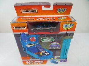 Matchbox Pop Up Car Wash Adventure Set Mattel 2007 NOS