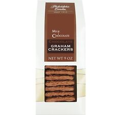 Philadelphia Candies Chocolate Graham Crackers, Milk Chocolate Covered 9 Oz Gift
