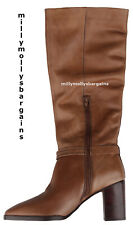 New Womens Brown Leather NEXT Signature Boots Size 7 RRP £95