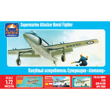 Supermarine Attacker British Single-seat Naval Jet Fighter Model Kits scale 1:72
