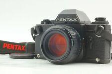 【CLA'd NEAR MINT】 Pentax LX Black Late Model SMC PENTAX A 50mm f1.4 Lens Japan