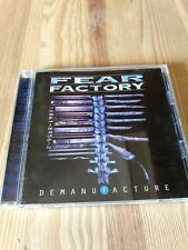 FEAR FACTORY  DEMANUFACTURE  1996  JAPAN EDITION 14 TRACKS WITH NO OBI