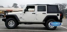 2007-2009 Jeep Wrangler 4-Door Replacement Soft Top with Tinted Rear Windows